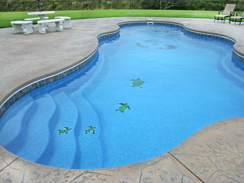 David Pool and Spa | Swimming pool mosaic tile swimming pool ...