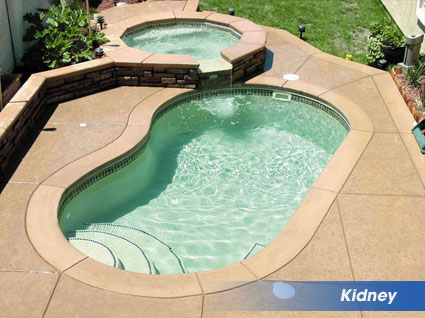 Kidney Shaped Swimming Pools From Heritage