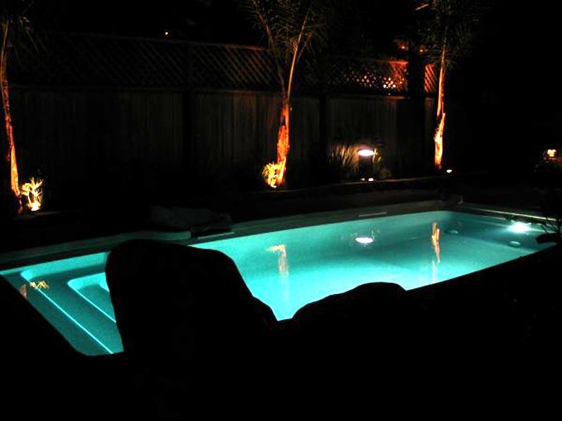 David Pool and Spa | Swimming Pool lighting from swimming pool ...