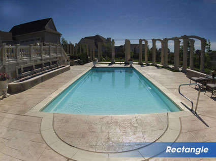 Rectangle Swimming Pools For Warminster Pa